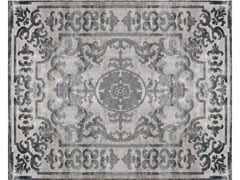 - Handmade silk rug POMPADOUR PEARL - EDITION BOUGAINVILLE