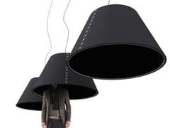 Lampada fonoassorbente a sospensioneBUZZISHADE | Lampada a sospensione - BUZZISPACE