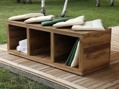 - Wooden garden cabinet TURTLE.02 - MENOTTI SPECCHIA PROJECT