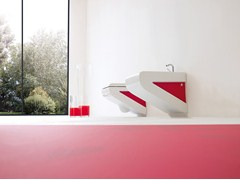 - Wall-hung ceramic toilet LA FONTANA | Wall-hung toilet - ArtCeram
