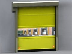 Vertically sliding industrial door SMART DOMINO - CAMPISA