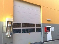Sectional door ATEX - CAMPISA