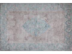 - Handmade silk rug AMIRAL GREEN | Handmade rug - EDITION BOUGAINVILLE