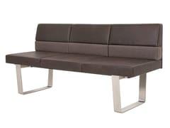 - Leather small sofa BENCH+ | Small sofa - KFF