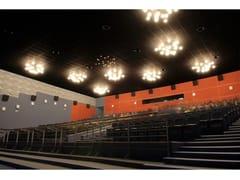 - Sound absorbing glass wool ceiling tiles Ecophon Sombra™ A - Saint-Gobain ECOPHON