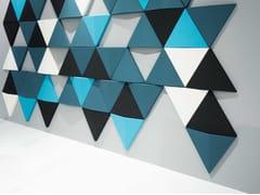 Pannello decorativo acustico in tessutoBITS WALL - ABSTRACTA