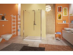 - Glass shower wall panel WEB 4.0 SEPARÈ SPX - MEGIUS