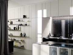 - Wooden boiserie / wall shelf FLOATING SPACES SE 8008 LM - SieMatic