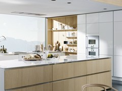 - Wooden boiserie / wall shelf FLOATING SPACES S2-H - SieMatic