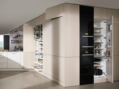 - Wooden boiserie / wall shelf FLOATING SPACES SE 4004 | Boiserie - SieMatic