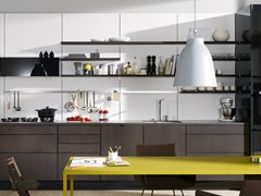- Wooden boiserie / wall shelf FLOATING SPACES SE 4004 | Wooden wall shelf - SieMatic