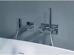 - Bathtub mixer with hand shower RUBINETTO - CRISTINA Rubinetterie