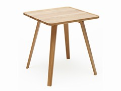 - Square solid wood table MILL | Square table - Karl Andersson & Söner