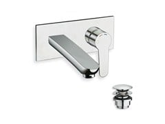 - Wall-mounted single handle washbasin mixer NEW DAY - CRISTINA Rubinetterie
