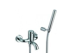 - Bathtub mixer with hand shower CX - CRISTINA Rubinetterie