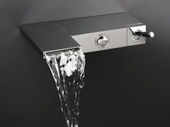 - Wall-mounted bathtub mixer MODUL - CRISTINA Rubinetterie
