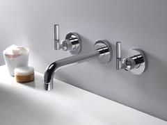 - 3 hole wall-mounted washbasin tap PICCHE ELITE - CRISTINA Rubinetterie
