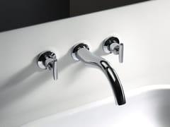 - Wall-mounted washbasin tap SELTZ - CRISTINA Rubinetterie
