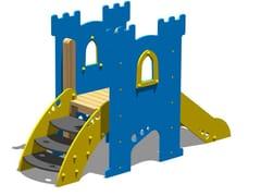 - Polyethylene Play structure / Slide TORRE PARSIFAL - SCALA - Legnolandia