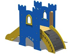- Polyethylene Play structure / Slide TORRE PARSIFAL - RAMPA - Legnolandia