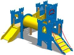 - Polyethylene Overhead ladder CASTELLO SIR BIS - Legnolandia