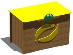 Porta giochi in legnoBANANA BOX - LEGNOLANDIA