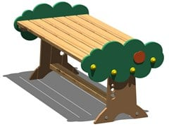 - Pine Table for public areas ARANCIA | Table - Legnolandia
