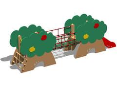 - Polyethylene Slide / Overhead ladder CASTELLO MELO - SCALA PIOLI - Legnolandia