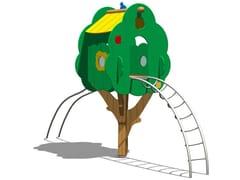 - Pine Play structure TREE TOWER 200T-2 - Legnolandia