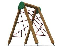 - Pine Climbing frame YOUNG | Climbing frame - Legnolandia