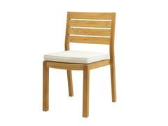 - Stackable teak garden chair AMBRA | Garden chair - Ethimo