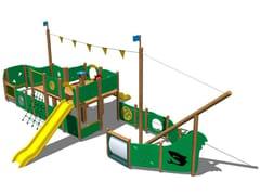 - Wooden Play structure GOLETTA - Legnolandia