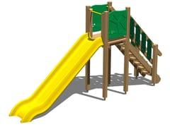 - Wooden Slide SCOIATTOLO 150 - Legnolandia