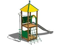 - Wooden Play structure VOLPE INOX - Legnolandia
