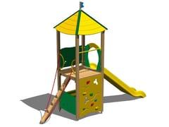 - Polyethylene Play structure / Slide LUPO - Legnolandia