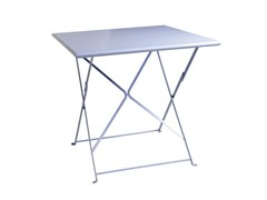 - Folding Square garden table FLOWER | Square garden table - Ethimo