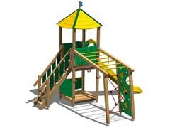 - Pine Play structure TORRE CERVO - Legnolandia