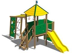 - Pine Play structure TORRE FAINA - Legnolandia