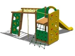 - Wooden Play structure TORRE PUMA - Legnolandia