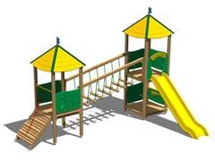 - Pine Play structure CASTELLO SELVA - Legnolandia