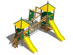 - Pine Play structure CASTELLO BOSCO - Legnolandia