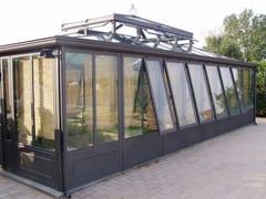 Giardino d'inverno in ferro e vetroGIARDINO D' INVERNO IN FERRO - CAGIS