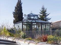 Giardino d'inverno in ferro e vetroSALA LETTURA - CAGIS