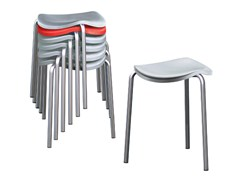 - Stackable stool WELL   Stackable stool - REXITE