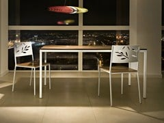 - Rectangular laminate table CHARLIE | Rectangular table - ALMA DESIGN