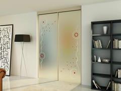 - Glass sliding door with pelmet SINTHESY STYLO - FOA