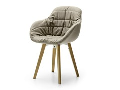 - Visitor's chair QUEEN NATURAL - Sinetica Industries