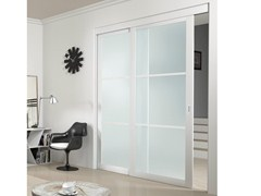 - Glass Sliding door with a fixed wing AURORA - FOA