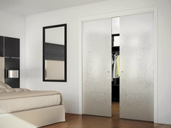 - Concealed-in-wall sliding door SINTHESY LIGHT - FOA