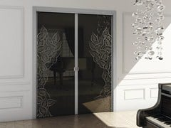 - Pocket sliding door SINTHESY QUADRA - FOA